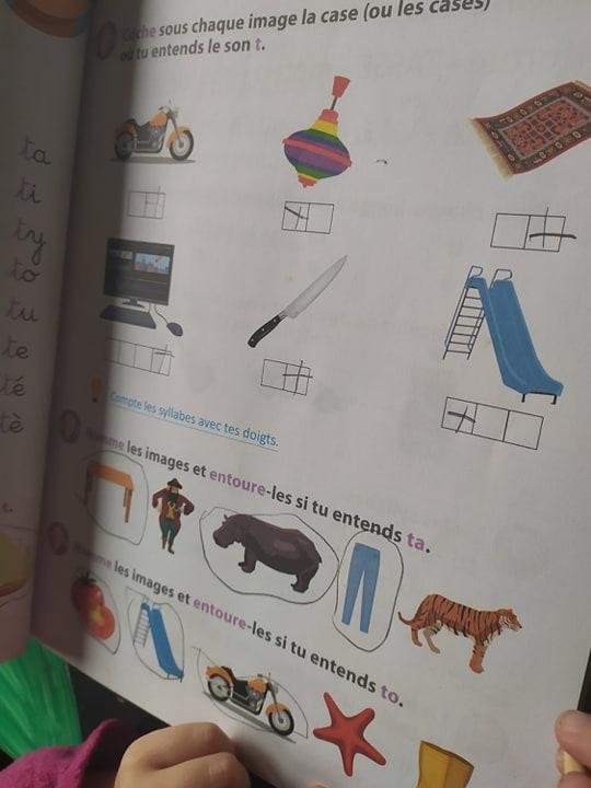 Apprendre à lire avec la méthode syllabique de chez Larousse