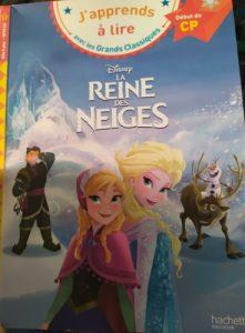 J'apprends à lire la reine des neiges
