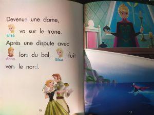 la reine des neiges j'apprends à lire seul
